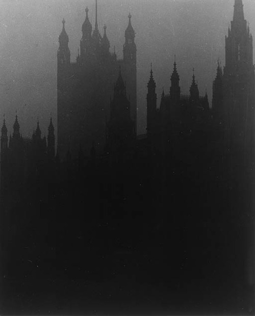 Blackout in London, 1939