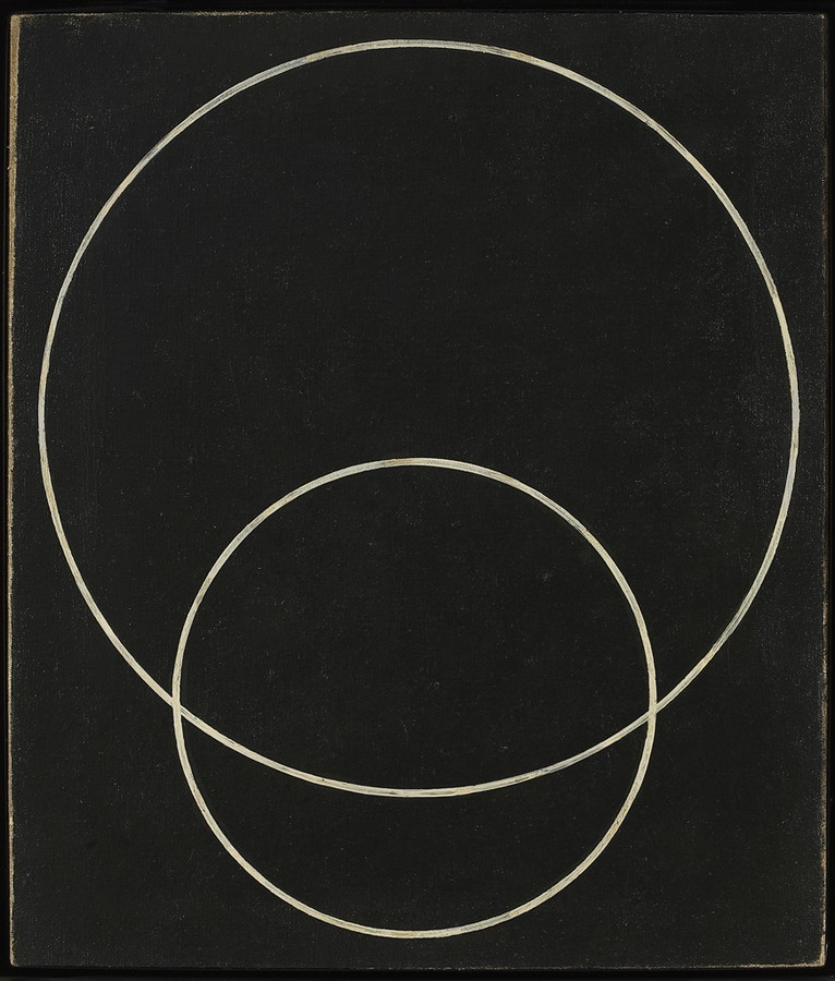 Rodchenko, Construction No. 127, Two Circles, 1920