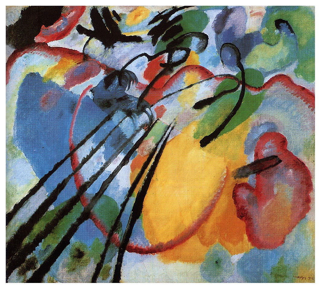 Kandinsky, Improvisation no 26, 1912