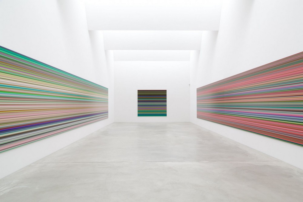 Gerhard Richter, Strip, exhibition 2014