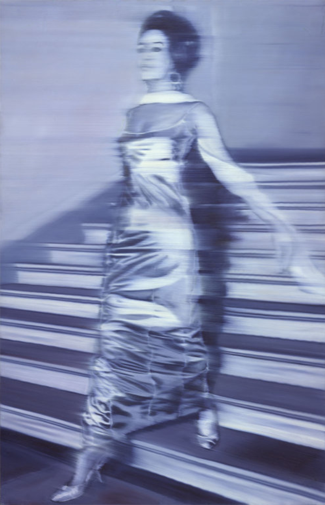 Gerhard Richter, Woman Descending the Staircase, 1965