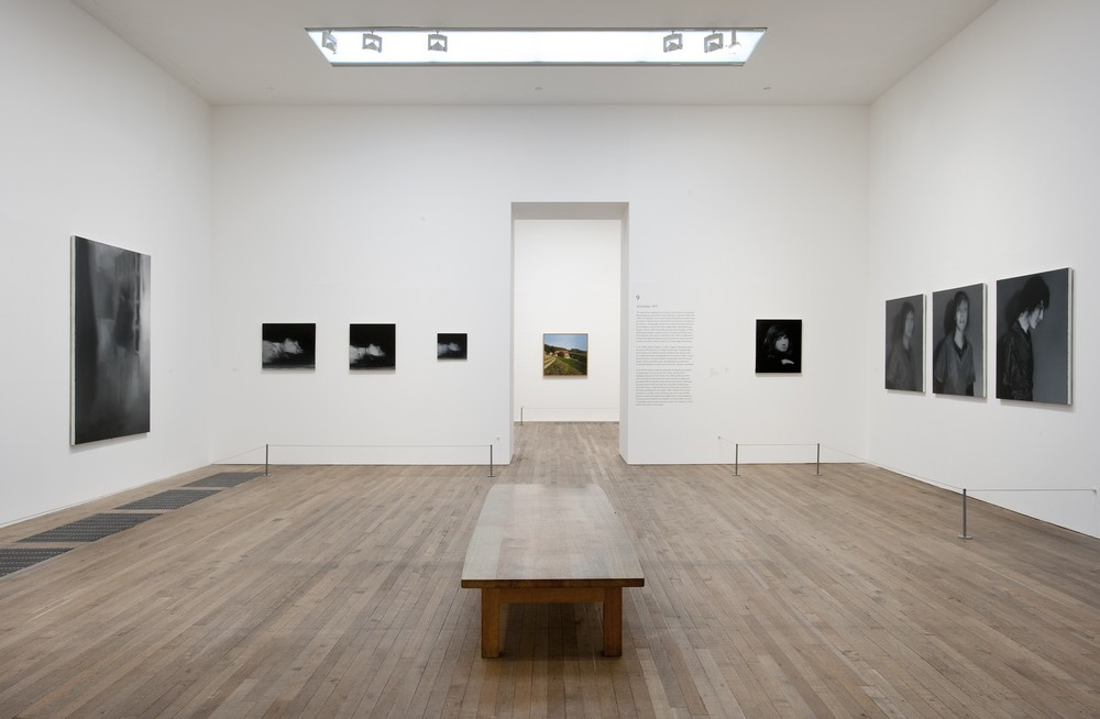 Gerhard Richter, October 18, 1977, exhibition view