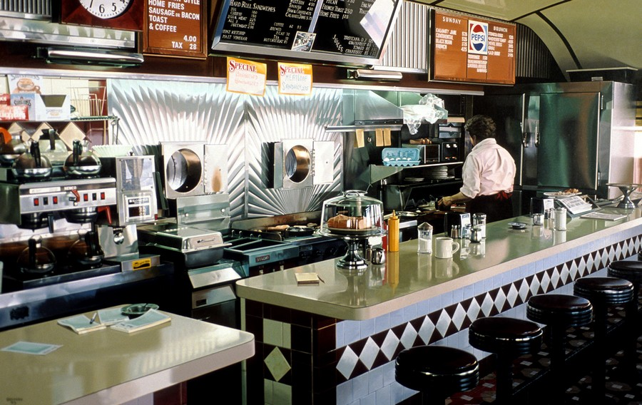 Goings, Miss Albany Diner, 1993