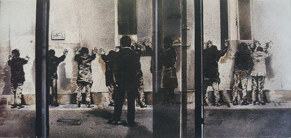 Jiannis Psychopedis, Arrest, 1971