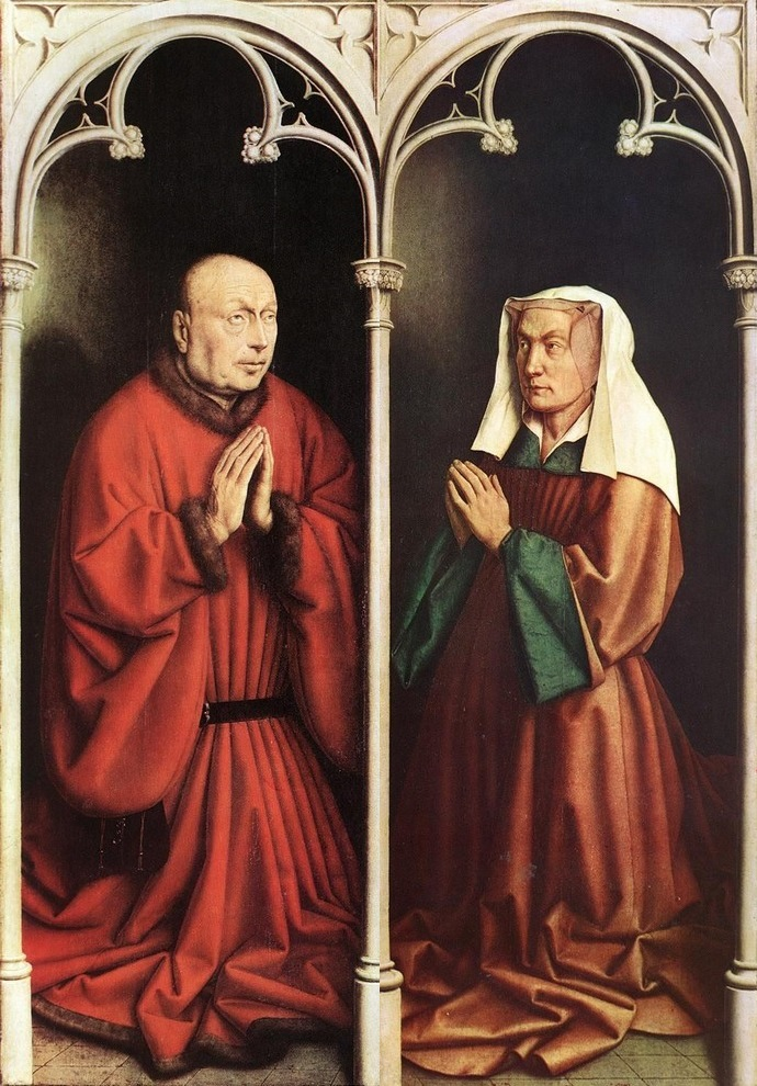 Ghent Altarpiece donors