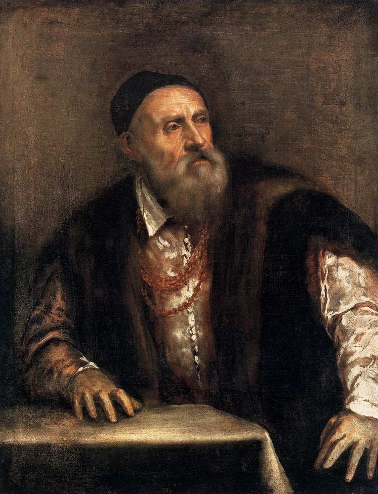 Tiziano, Self Portrait