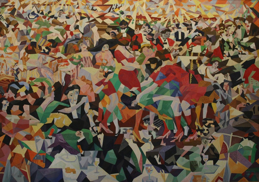 Severini, The Pan Pan at the Monico, c.1959