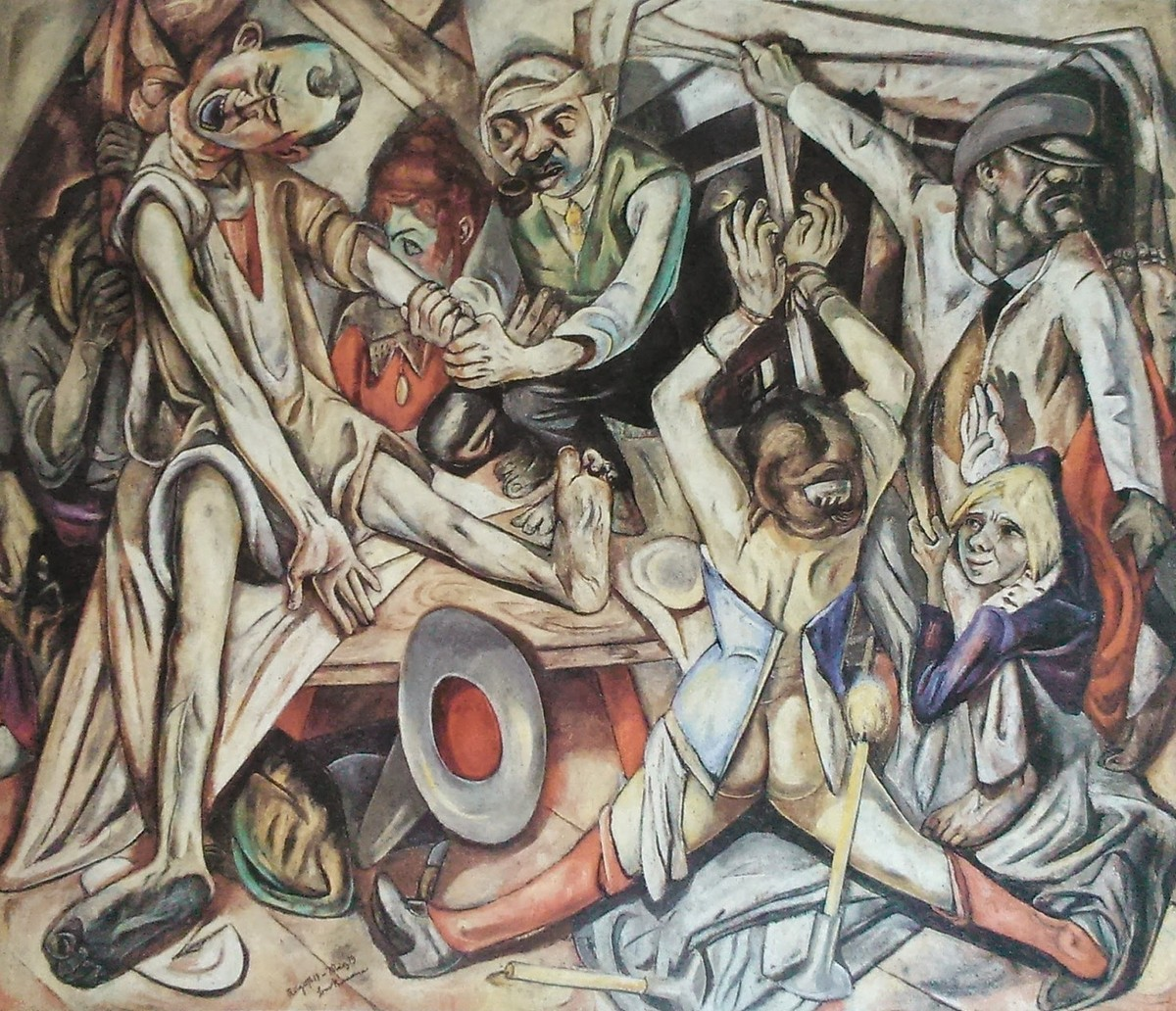 Max Beckmann Night 1918 19